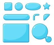 Gemowe wartości, GUI dla gry Fotografia Royalty Free