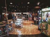 Gemowy centrum w Lotte hali targowej Bintaro obraz royalty free