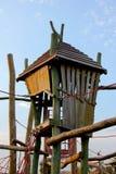 Gemowy drewniany ogród Fotografia Stock