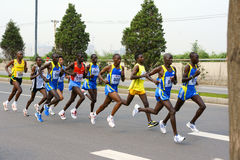 gemowy maraton Zdjęcia Royalty Free