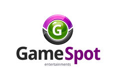 Gemowy punktu logo Fotografia Stock