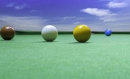 Gemowy snooker zdjęcie stock