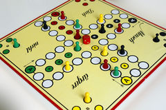 Gemowy sztuki postaci boardgame szczęście gniewny Obraz Stock