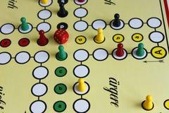 Gemowy sztuki postaci boardgame szczęście gniewny Zdjęcie Royalty Free