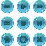 Gemowy UI ikon gui Obraz Stock