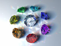 Gems Stock Photo