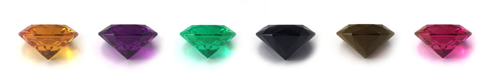 Gems Royalty Free Stock Images