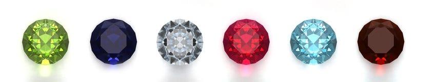 Gems Stock Image