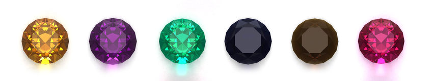 Gems vector illustration
