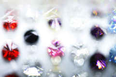 Gems, blurred, shine Stock Photography
