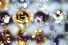 Gems, blurred, shine Royalty Free Stock Photo