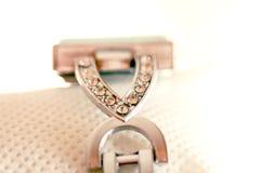 Gems on  a bracelet Stock Photos