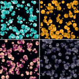 Gems crystals Royalty Free Stock Images