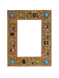 Gems frame Stock Photo