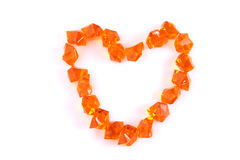 Gems heart Royalty Free Stock Images