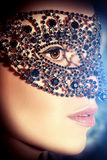 Gems mask Royalty Free Stock Photos