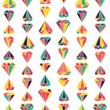 Gems pattern Stock Photography