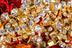 Gems and treasures Stock Photo