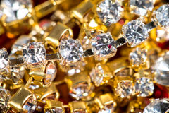 Gems and treasures Stock Image