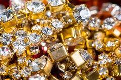 Gems and treasures Stock Images