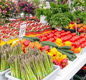 Gemüse am Markt Lizenzfreies Stockfoto