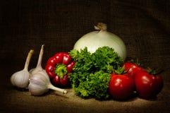Gemüse-noch Leben Lizenzfreies Stockfoto