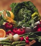 Gemüse und Früchte Lizenzfreie Stockbilder