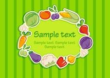 Gemüsehintergrund Stockfoto