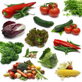 Gemüseprobeflasche Stockfotografie