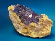 gemstone апатита стоковая фотография rf