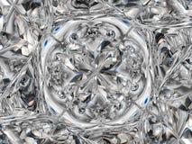 Gemstone or Abstract diamond texture closeup and kaleidoscope stock illustration
