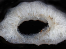 Gemstone agata makro- tekstura Obrazy Royalty Free