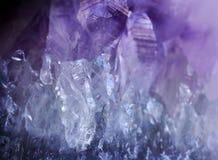 Gemstone Amethyst  crystal Royalty Free Stock Images