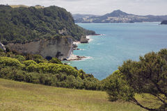 Gemstone Bay near the car park to Cathedral Cove.  Royalty Free Stock Photography