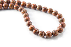 Gemstone beads Royalty Free Stock Image