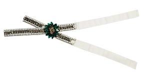 Gemstone brooch Stock Photo