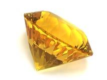 gemstone citrine Стоковое Изображение RF