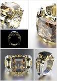 gemstone Collections de gemmes de bijou Image stock
