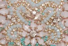 Gemstone jewellery abstract Stock Photos