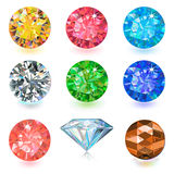 Gemstone jewerly set Stock Image