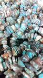 Gemstone koralików tło Zdjęcie Royalty Free