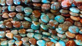 Gemstone koralików tło Obraz Stock