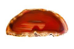 Gemstone kornaliny agata zakończenie up Obraz Stock