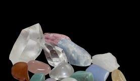 Gemstone margin Stock Photography