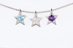 Gemstone pendant Royalty Free Stock Image
