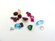 gemstones Royaltyfria Bilder