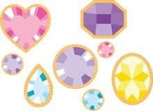 Gemstones Arkivbild
