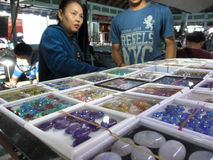 gemstones Foto de archivo libre de regalías