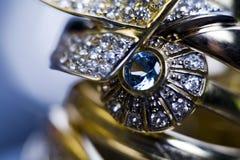 Gemstones background Stock Photo