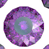Gemstones background. Diamond. Amethyst Royalty Free Stock Photos